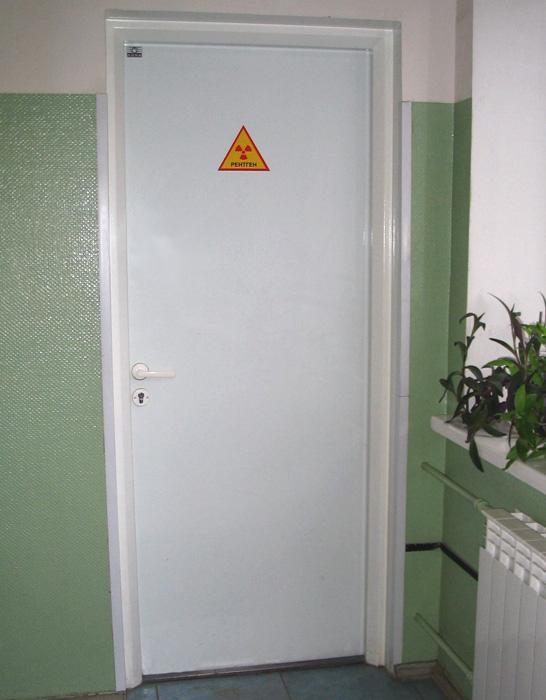 Двери рентгензащитные